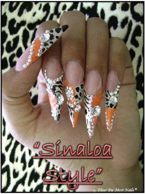 imagenes de uñas acrilicas estilo sinaloa seminario estilo sinaloa isa nails