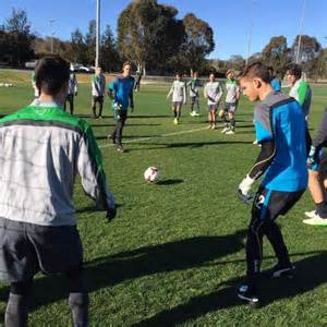 abc news qld 17 4 2015 worldnews top young football players in canberra vying for national