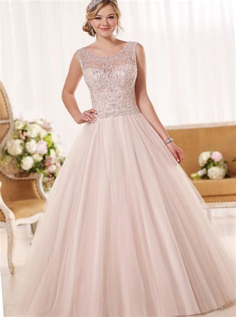 Pink Wedding Dress by Plus Size Pink Wedding Dresses Pluslook Eu Collection