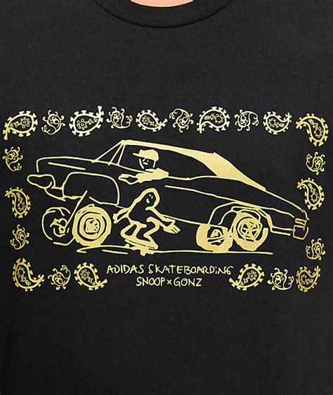Tshirt Adidas Snoop adidas snoop x gonz la stories sleeve t shirt zumiez