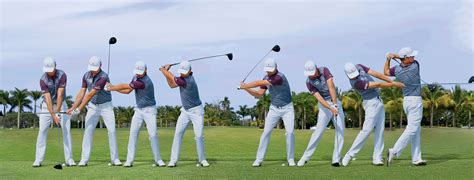 golf swing sequence swing sequence zac johnson australian golf digest