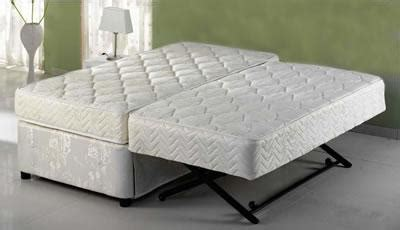 ultimate twinxl twin pop  trundle bed absolute comfort  sale