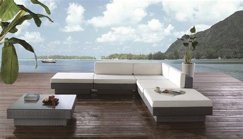 ezra patio sectional set outdoor lounge