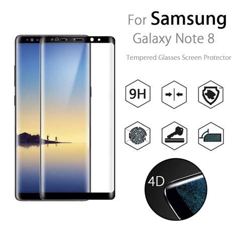 Sale Tempered Glass Color Samsung Galaxy Note 3 bakeey 4d curved edge tempered glass for samsung galaxy note 8 sale banggood