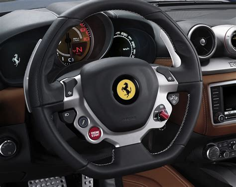 ferrari california  steering wheel