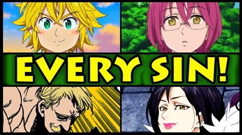 anoboy seven deadly sins all 7 sins and their powers explained seven deadly sins
