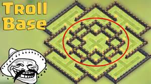 Clash of clans town hall 8 th8 troll base best protect 100 dark
