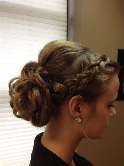 prom hairstyles wedding hairstyles and updo hairstyles prom updo prom pinterest updo wedding and loose buns