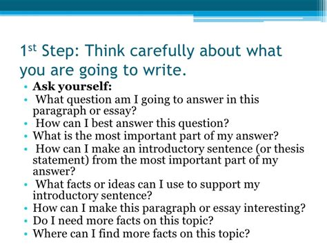 The Steps To Writing An Essay by Essay Steps How To Write A Reflective Essay Ayucar