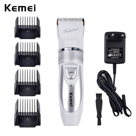 In Electric Clipper Titanium Hair Trimmer Alat Cuku 5 mode adjust titanium steel blade rechargeable electric