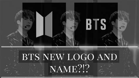 bts meaning bts new logo and name beyond the scene youtube