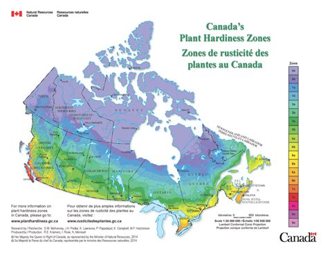 canadian garden zones landscape trades canada s new plant hardiness zones