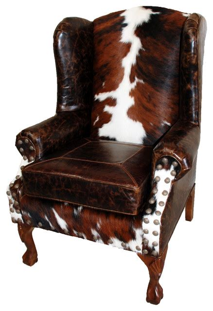 southwestern chairs and ottomans great blue heron quot santa fe quot wing back chair reviews