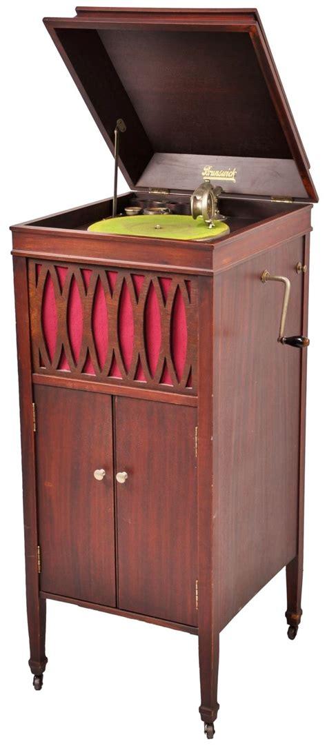 vintage record player cabinet parts antique brunswick balke collender phonograph record