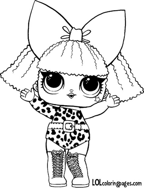 lol doll lol doll coloring pages