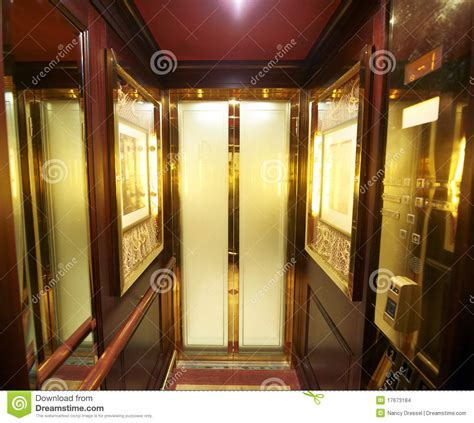 Executive House Plans Inside Luxury Elevator Stock Photo Image Of Home Buttons