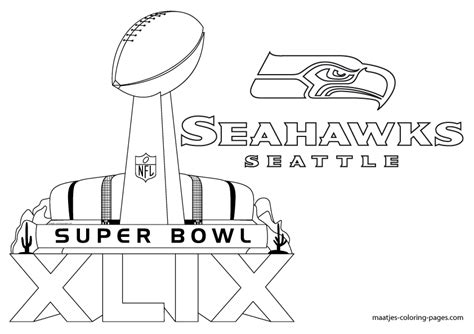 Seattle Seahawks Coloring Pages Chuckbutt Com Turkey Seahawks Coloring