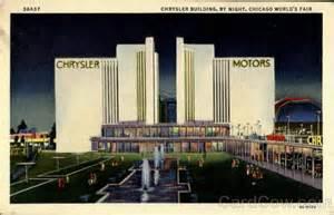 Chrysler Building Chicago Chrysler Building By 1933 Chicago World Fair
