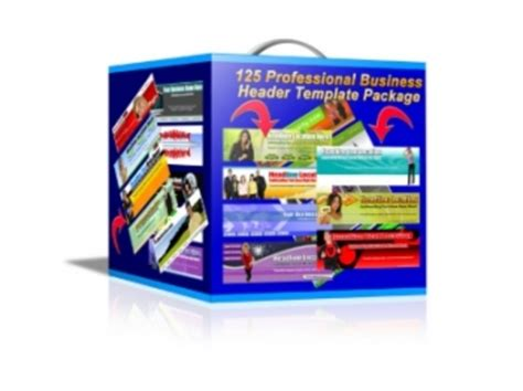 packaging header card template 125 professional business header template package mrr