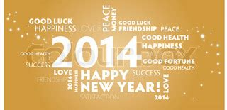 2014 happy new year best wishes happy new year gold