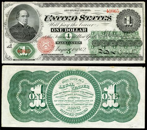 The Dollars united states one dollar bill