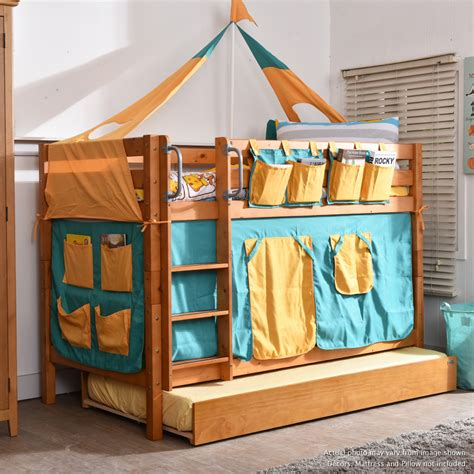 seattle bunk beds seattle low bunk with trundle