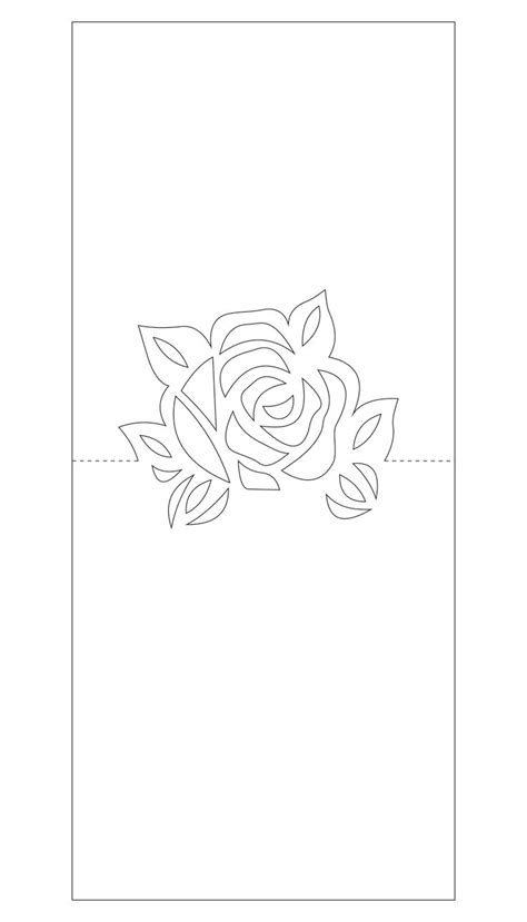 pop up flower card template best 25 pop up card templates ideas on pop up