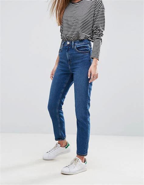 Land Nanette Lepores Wearable High Waist Trousers by Asos Asos Farleigh High Waist Slim In Blossom