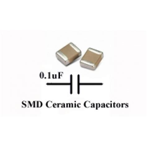 smd capacitor number code buy 50 x 0 1uf ceramic capacitor 1608 smd smt tdk pack of 50 melbourne australia