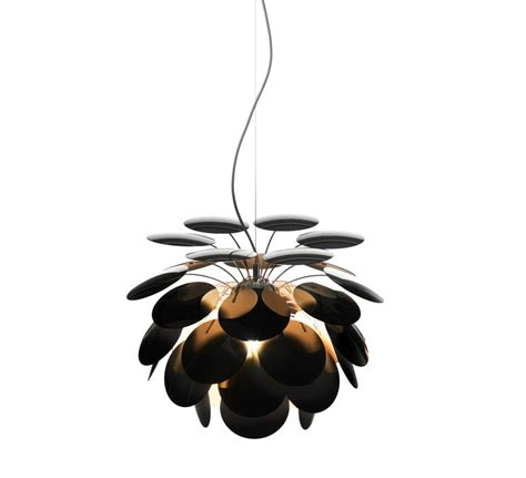 Luminaires Design Suspension 620 by Suspension Discoco Noir Et Or 216 53cm Marset
