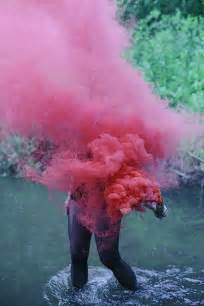 colored smoke bomb colored smoke on