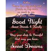 God Bless Good Night Quotes QuotesGram