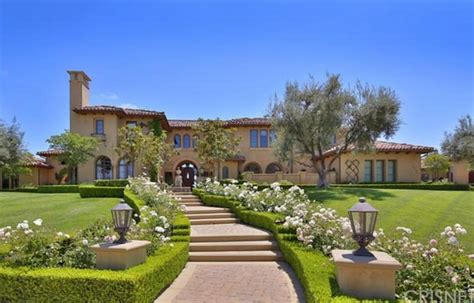 Mediterranean Style Mansions 9 995 Million Newly Listed Mediterranean Mansion In