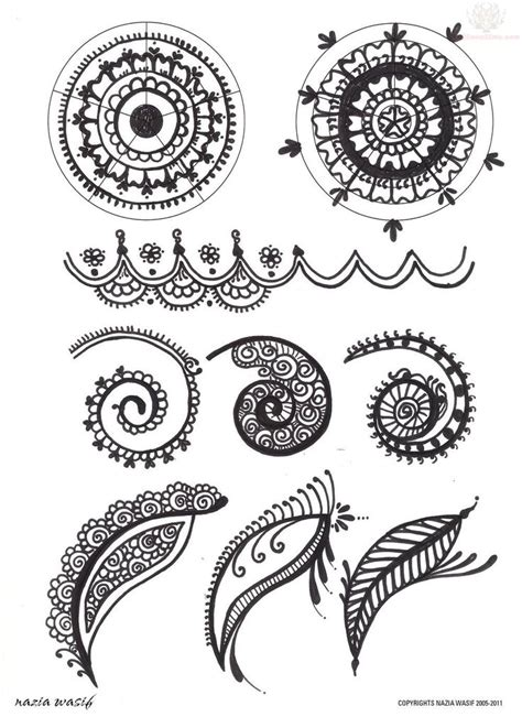 henna tattoo designs six flags paisley pattern leaves and flowers designs