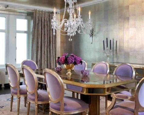 Attractive Pictures Of Garden Spiders #4: Victorian-Inspired-Purple-Dining-Room.jpg