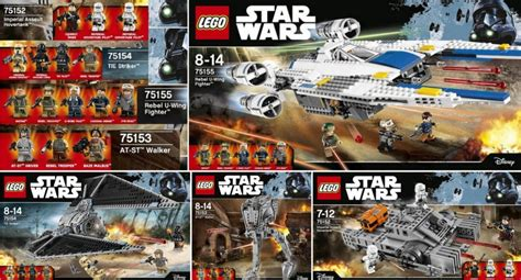 lego star wars 2016 rogue one sets and price list revealed lego rogue one sets coming on september 30th 2016