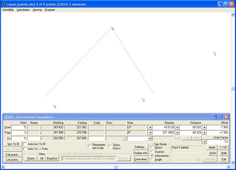 Free Survey Software - free land surveying software copan lite underhill geomatics ltd