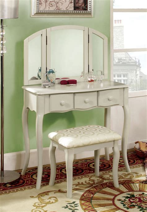 white vanity table bedroom products los
