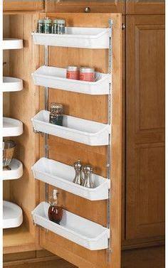 inside door storage home on pinterest storage baskets spices and spice storage