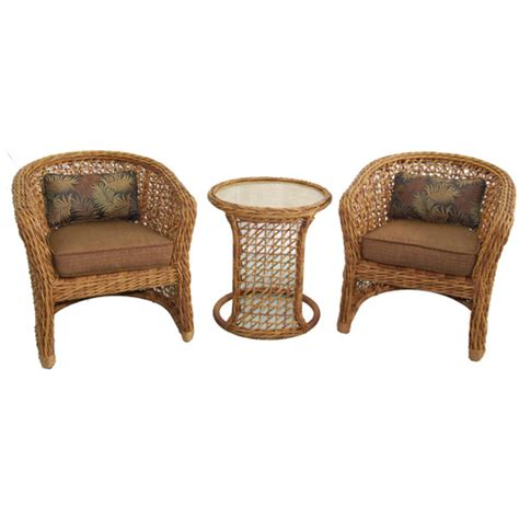 allen roth highcroft patio furniture set  wicker chairs table  lowes seating outdoor