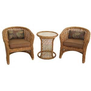 Allen Roth Patio Furniture by Allen Roth Highcroft Patio Furniture Set With Wicker