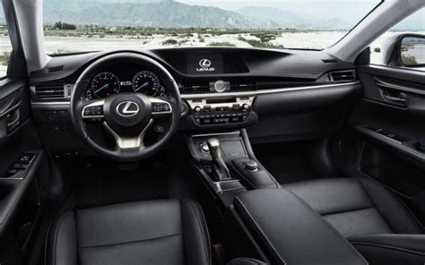 lexus es interior 2017 lexus es 350 changes redesign release date price