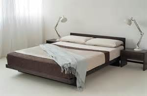 Contemporary Bed Frames Uk Kumo Low Wooden Beds Japanese Style Bed