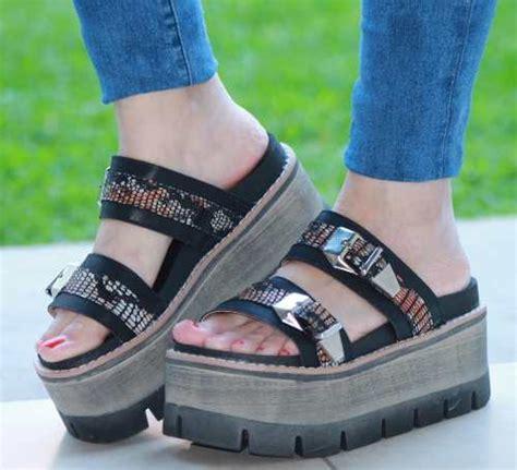 imagenes d sandalias a la moda 2016 sandalias zapatos plataforma alta mujer verano moda 2016