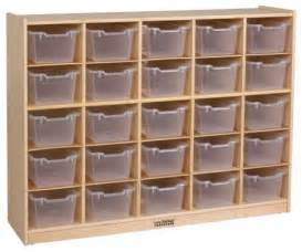 Vanity Trays For Bathroom by Ecr4kids 25 Tray Storage Cabinet With Clear Bins