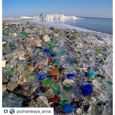 russian glass beach sea glass on a russian beach sea glass pinterest