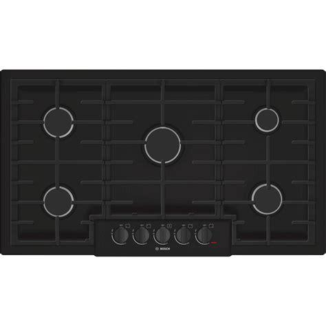 bosch 800 gas cooktop bosch ngm8665uc 36 quot 800 series gas cooktop black