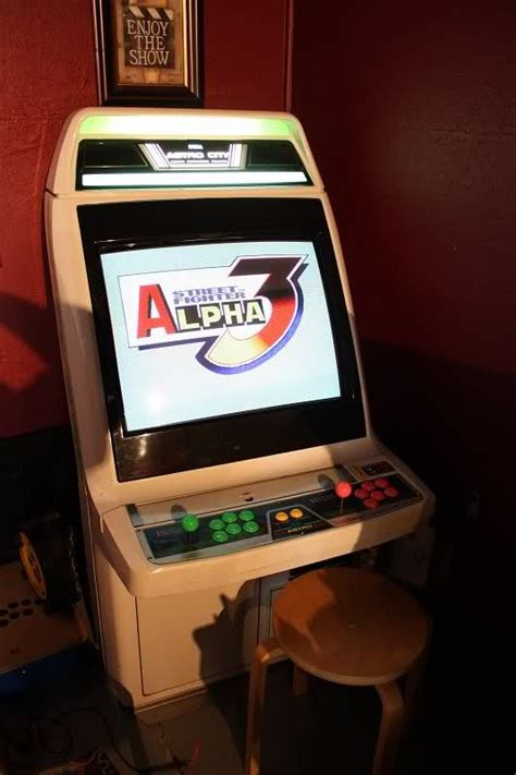 Fighter Alpha 3 Arcade Cabinet The Arcade Is On