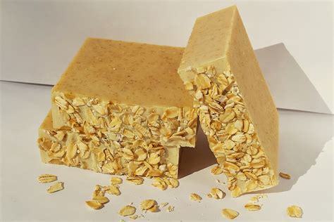 Handmade Oatmeal Soap - oatmeal honey soap handmade soap cold process soap