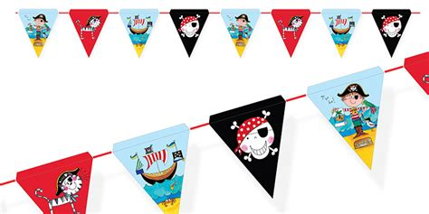 pirate birthday bunting pirate birthday party theme